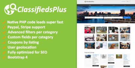 ClassifiedsPlus v1.03 - Classified Ads CMS
