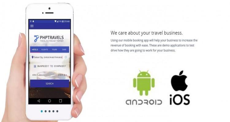 PHPTravels Android Native App + Apple IOS Native App + V6.6 Web-script