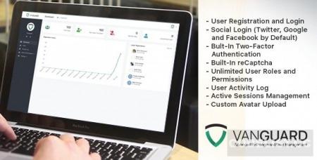 Vanguard v5.0.1 - Advanced PHP Login and User Management