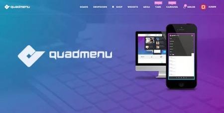 QuadMenu v1.8.4 - Themes Developer Mega Menu