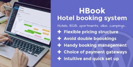 HBook v1.9 - Hotel booking system - WordPress Plugin