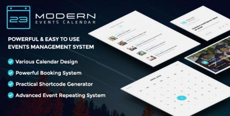 Modern Events Calendar v4.3.1 - Responsive Event Scheduler