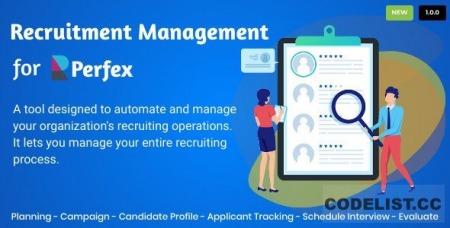 Recruitment Management for Perfex CRM v1.0