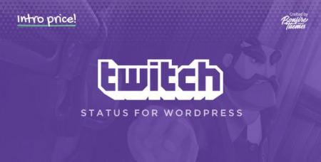 Twitch Status for WordPress v1.3