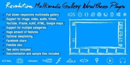 Revolution Multimedia Gallery v1.0 - Wordpress Plugin