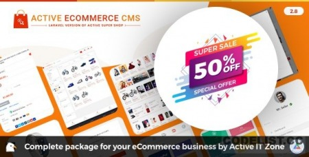 Active eCommerce CMS v2.8 - nulled