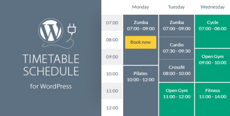 Timetable Responsive Schedule v5.9