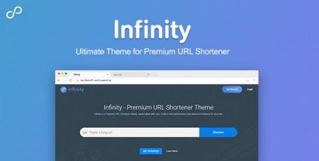 Infinity v1.0.4 - Premium URL Shortener Theme