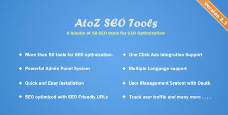 AtoZ SEO Tools v2.3 - Search Engine Optimization Tools