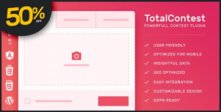 TotalContest Pro v2.0.0 - Responsive Contest Plugin
