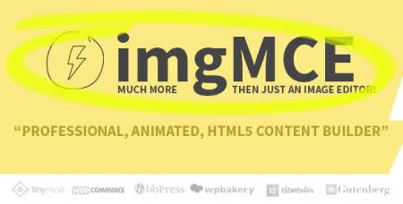 imgMCE v1.3.1 - Professional, Animated Image Editor & HTML5 content builder